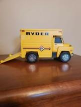Vintage Ideal Plastic Ryder Truck 1976 Toy - $14.80