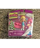Polly Pocket Time to Hit the Slopes Doll with Accessories BRAND NEW IN P... - $9.90