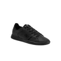 Lacoste Men's Casual Novas 120 3 SMA Athletic Shoes Leather Black Sneaker image 4