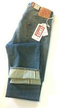 NWT LVC Levis Vintage Collection 28x34 1955 501 Big E Selvedge Jean Cone... - $167.19