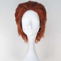 Miss U Hair Men Short Straight Hair Synthetic Auburn Color Halloween Cosplay Wig image 2