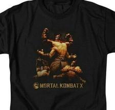 Mortal Combat X Fighting video game Quan Chi graphic adult t-shirt WBM469 image 2