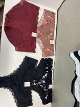 Auden Women's Size XL Lot Of 4 Panties Undies Hipsters Cheeky - $12.16