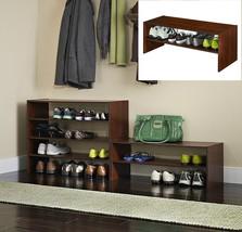 Stackable Shoe Organizer Rack Entryway Storage ... - $43.00