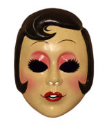 Trick or Treat The Strangers Prey at Night Pin Up Girl Halloween Mask AR... - £11.46 GBP