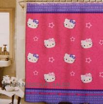 "Hello Kitty Twins & Wink Star Gazers Fun Shower Curtain, Peva 72"" x 70""-... - $15.98"