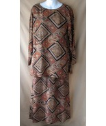 4 Vintage Carole Little Tunic Skirt Set Rayon G... - $49.99