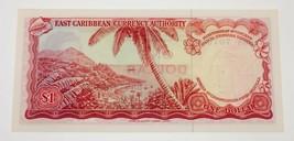 1965 East Caribe Moneda Authority Nota Recoger #13e que No Ha Circulado image 2