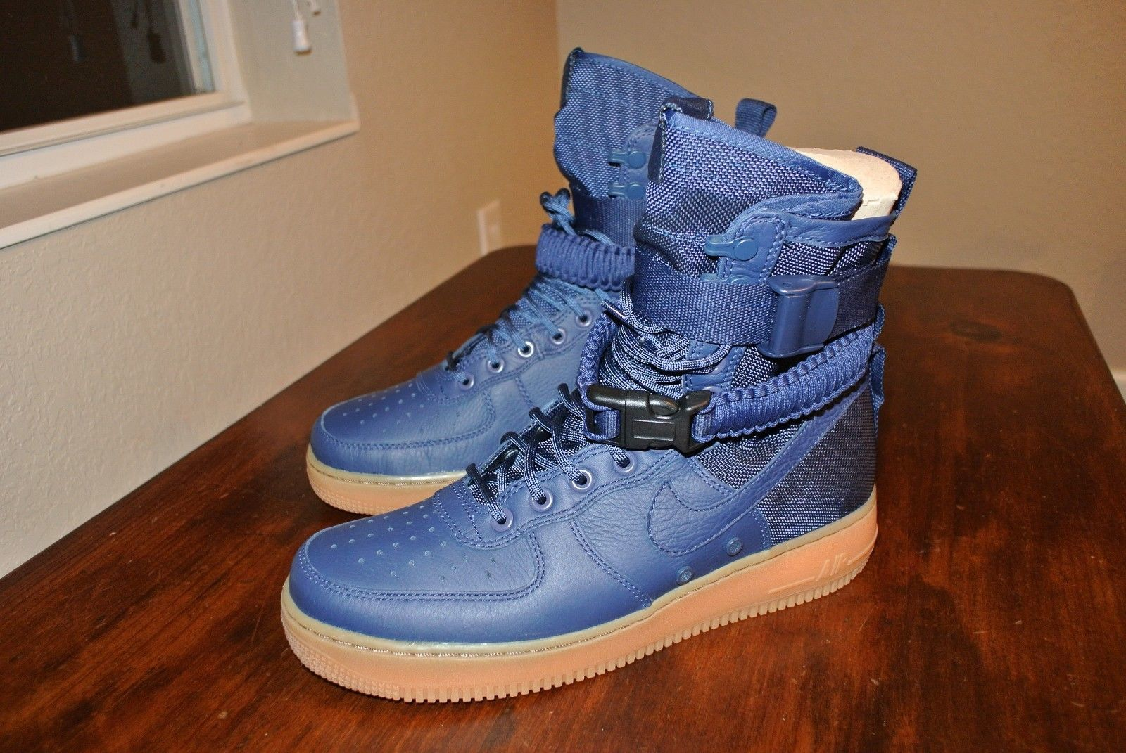 quality design 40469 6566a NIKE SF AF1 MIDNIGHT NAVY SPECIAL FIELD 864024 400 US MENS SHOE SIZE 9