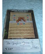"""Sleepy Teddy Quilt Pattern by The Gingham Goose - Crib size, 45"""" x 60""""  - $4.96"""