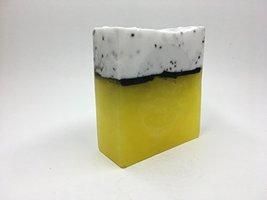 Lemon chia seed scrub soap bar - $6.92