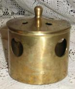 Brass Incense Burner-2 pc-Handcrafted - Silvertri - 60's - $13.00