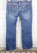 Gap Kids Straight Leg Jeans 1969 Boys Size 10 Plus Medium Wash Cotton Stretch image 3