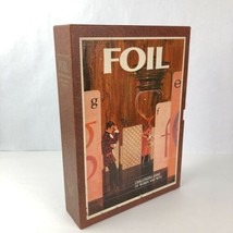 Vintage 1969 Foil 3M Bookshelf Board Game of Words and Wits - $12.86