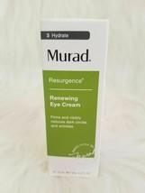 Murad Renewing Eye Cream Resurgence 0.5oz/15ml~New In Box~Freshest - $29.20