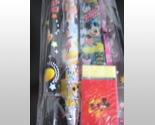 New, Mickey Mouse 5 Piece Stationary Set