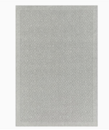NEW Allen + Roth 4' x 6' Gray Indoor Border Area Rug, Fade and Slip Resi... - $56.90