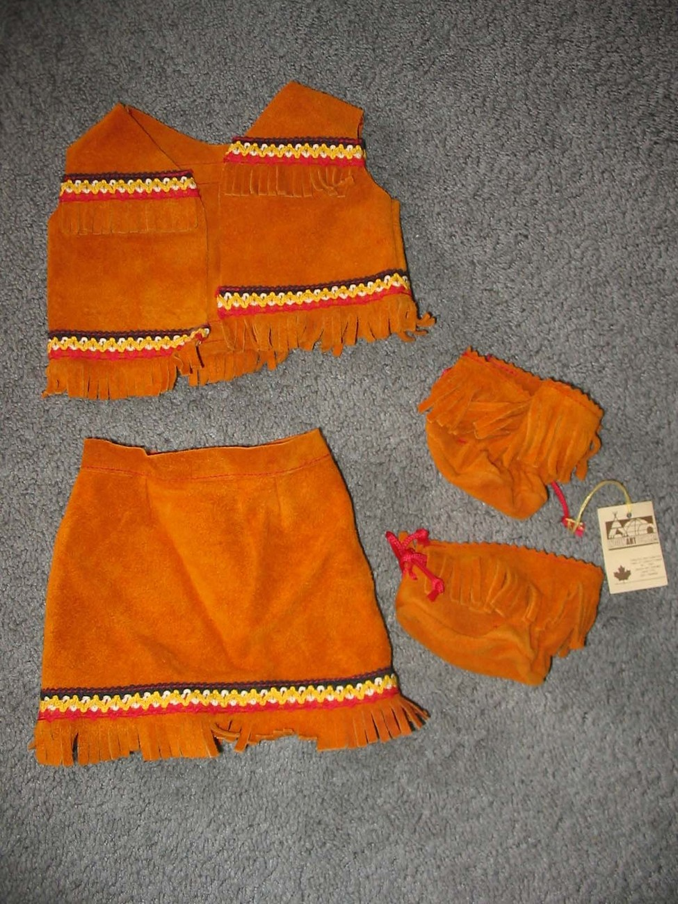 INDIAN Indien Art Eskimo Cabbage Patch & Doll Clothes	 INDIA