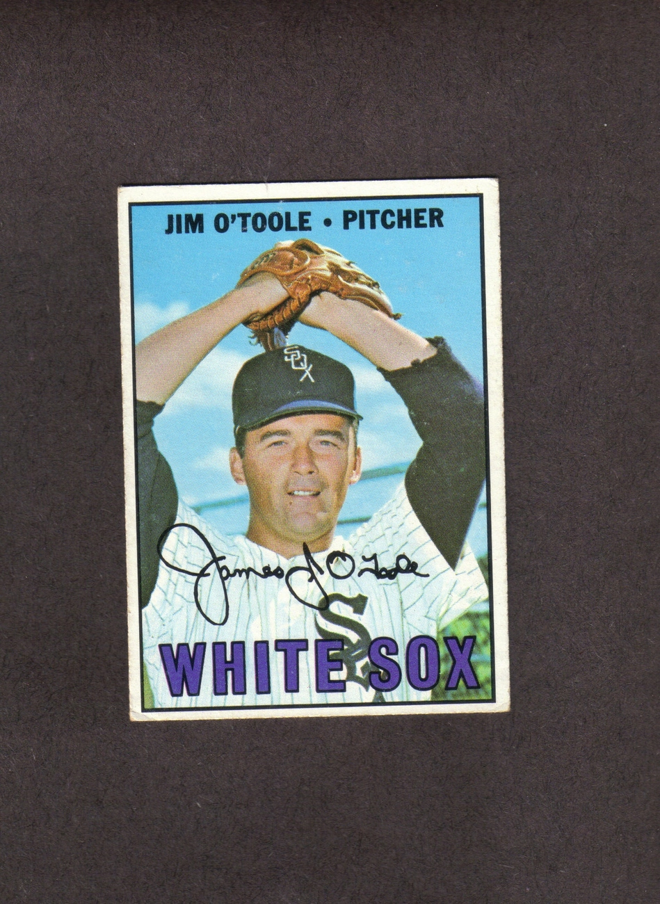1967 Topps # 467 Jim O'Toole Chicago White Sox
