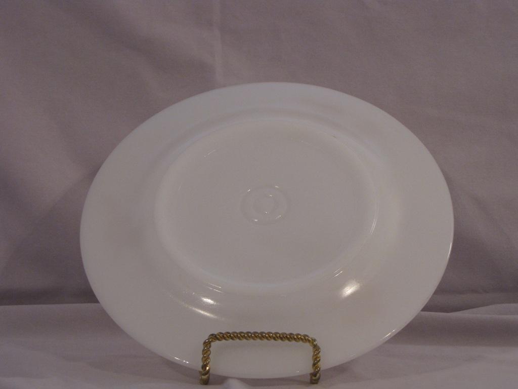 Federal Glass Golden Glory Dinner Plate