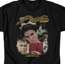 Labyrinth Dangers Untold Fantasy Retro 80s movie adult graphic t-shirt LAB154 image 2