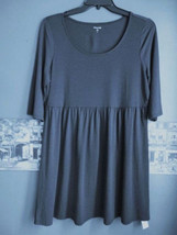 NEW Garnet Hill S Top Dark Navy  Blue  Cotton J... - $37.99