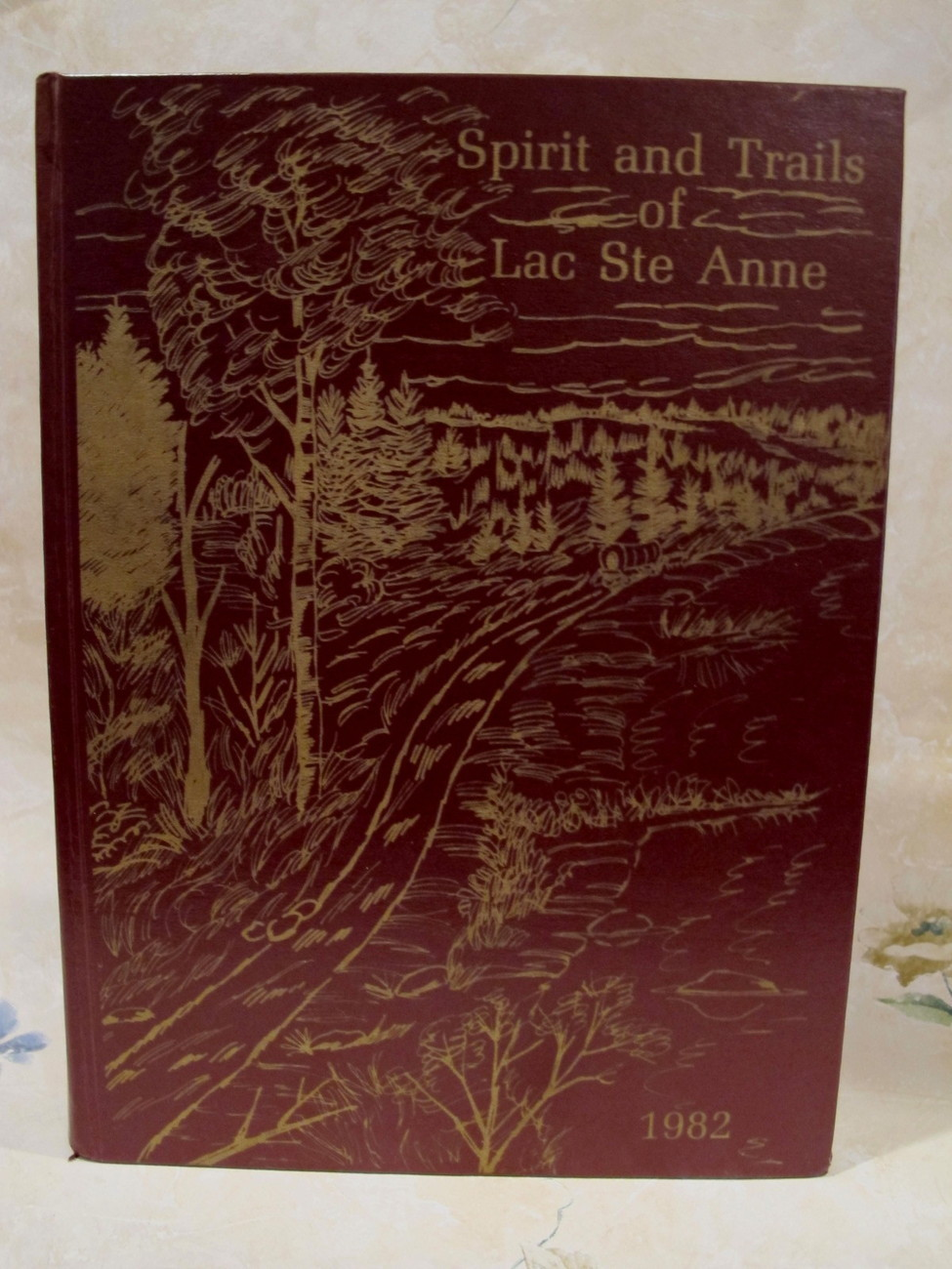 Lac Ste. Anne Alberta History Book Genealogy Family Tree Spirit and Trails
