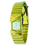 New Old Stock Ladies Pulsar Watch Gold S,Steel Water R With Orginal Box ... - $65.44