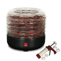 5-Tray Beef Jerky Machine with Jerky Homemade Meat Beef Maker Gun Kit an... - £45.35 GBP
