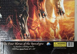 Jigsaw Puzzle 1500 Pieces The Four Horses of the Apocalypse 24 x 33 inch image 10