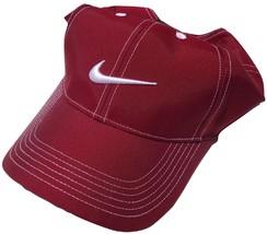 NEW! RARE Bordeaux NIKE Men-Women's Golf Hat Runner Swoosh Cap by NIKEGOLF - $79.08