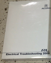 2009 Acura RL Electrical Troubleshooting Wiring Diagram Manual OEM - $18.08