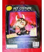 PET HALLOWEEN COSTUME CUTE LIL LITTLE DEVIL DOG CAT NEW - $6.00