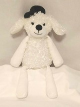 Scentsy Buddy Pari The Poodle New (No Scent Pak) Cute White Puppy Dog Hat B2 - $14.70