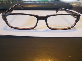 New Michael Kors Mk 616 Black 078 Plastic Eyeglass Frame Size 56-16-140 Perfect - $68.31