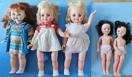 (5)  DOLLS (2) TOPPER SMARTY PANTS, SUSIE SUNSHINE, (2) LINDA WILLIAMS N... - $9.89