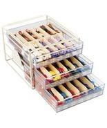 DMC Acrylic Floss Cabinet 12.75 x 9.75 x 14.5 floss storage DMC - $100.00