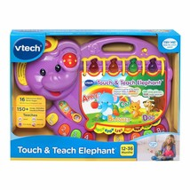 Toodler Interactive Story Book Elephant Learning System Songs Sounds Kids NEW - $39.43