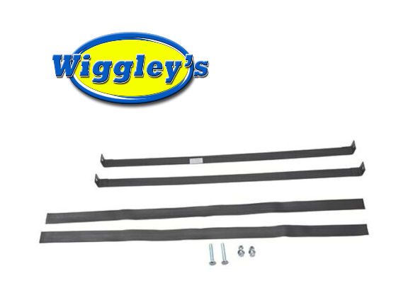 FUEL TANK STRAP SET ST5095, IST5095 FOR 49 50 51 52 53 54 CHEVY SEDAN DELIVERY