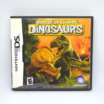 Nintendo DS Video Game Battle of Giants DINOSAURS 2008 PreOwned Complete... - $9.99