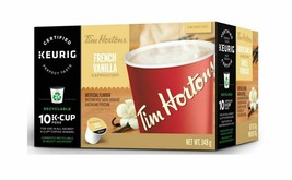 Tim Hortons Keurig Single Serve K Cups French Vanilla Cappuccino - Box of 10 - $11.63