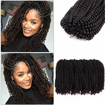 Cyber Monday 2019 Aigemei 4 Packs Spring Twist Hair Crochet Braids Ombre Braidin