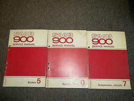 1979 80 1981 Saab 900 Bremsen Brille Aufhängung Räder Service Manuell 3 ... - $49.49