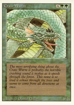 Magic: The Gathering 3rd Edition - Craw Wurm - $2.29