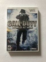 Call Of Duty World At War Nintendo Wii COMPLETE (Activision, 2008) TESTED - $5.70