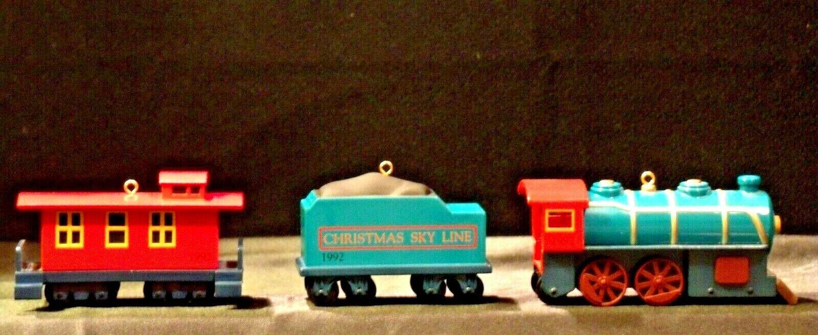 Hallmark Keepsake Ornament Christmas Skyline Train Collection AA-191770 Vintage