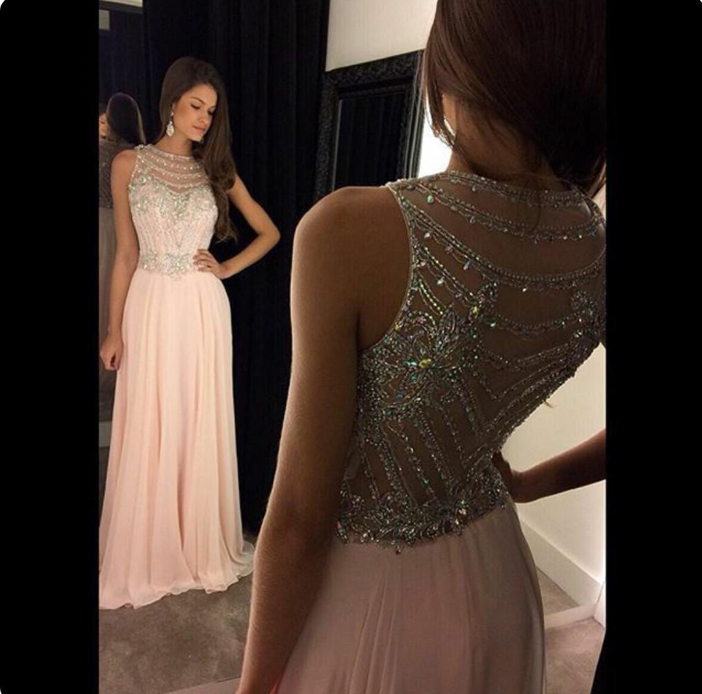 pink prom dress,long Prom Dresses,2018 evening dresses,formal evening gown