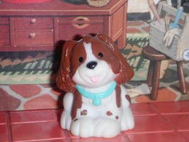 Fisher Price Loving Family Dollhouse Spotted Cocker Spaniel Brown White ... - $5.99