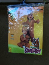 NIP SCOOBY-DOO TODDLER INFANTE CHILD'S SCOOBY COSTUME TODDLER SZ 2-4  AG... - $14.68