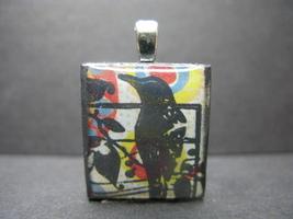 Raven - Scrabble Tile Pendant - $5.00